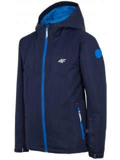 Ski jacket for older children (boys) JKUMN406 - navy