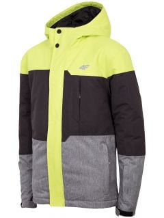 Ski jacket for older children (boys) JKUMN408 - fresh green