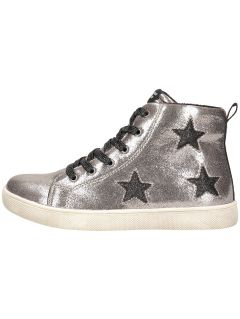 Autumn boots for older children (girls) JOBDA200 - silver