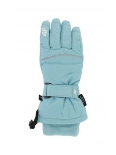 Ski gloves for older children (girls) JRED402 - mint