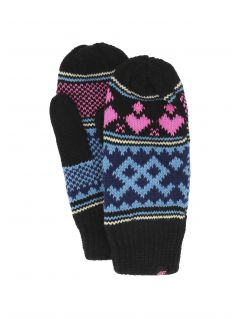Gloves for older children (girls) JREDD200 - black