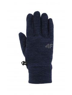 Gloves for older children (boys) JREM200 - grey melange