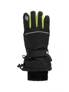Ski gloves for older children (boys) JREM401 - black