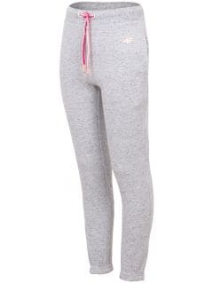 Sweatpants for younger children (girls) JSPDD101 - light melange