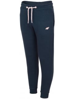 Sweatpants for older children (girls) JSPDD201c -  dark navy