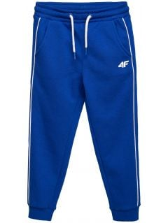 Sweatpants for younger children (boys) JSPMD105 - cobalt blue