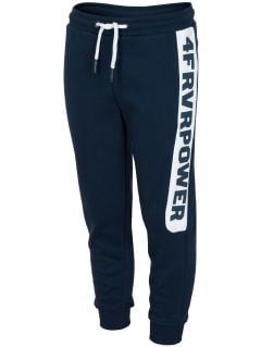 Sweatpants for older children (boys) JSPMD212 - navy