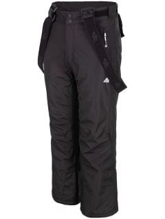 Ski pants for older children (boys) JSPMN400 - black