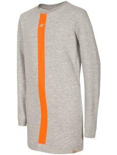 Sports dress for older children (girls) JSUDD204 - grey melange