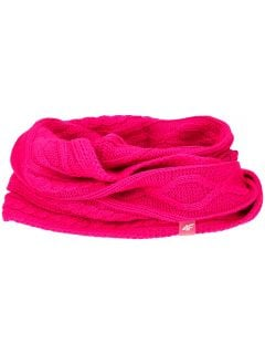 Scarf for older children (girls) JSZD203  - fuchsia