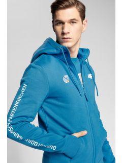 Men's hoodie 4Hills BLM100 - blue
