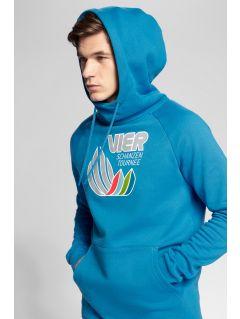 Men's hoodie 4Hills BLM101 - blue