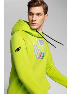 Men's hoodie 4Hills BLM101 - fresh green