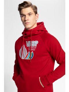 Men's hoodie 4Hills BLM101 - red