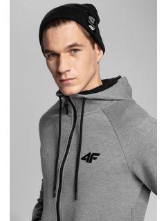 Men's hoodie 4Hills BLM104 - grey melange