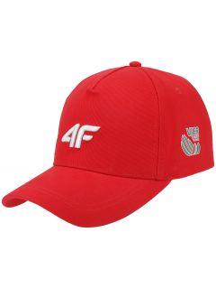 Unisex baseball cap 4Hills CAU100 - red