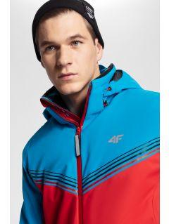 Men's ski jacket 4Hills KUMN100 - red