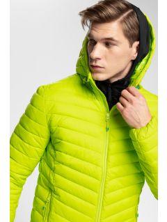 Men's down jacket 4Hills KUMP100 - fresh green