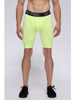 Men's base layer shorts 4FPro SPMF406 - neon yeellow