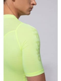 Men's base layer shirt 4FPro TSMF400 - yellow neon