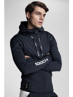 Men's hoodie Kamil Stoch Collection BLM502 - navy