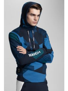 Men's hoodie Kamil Stoch Collection BLM503 - multicolor allover