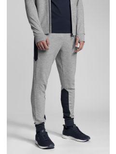 Men's sweatpants Kamil Stoch Collection SPMD501 - grey melange