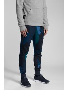 Men's sweatpants Kamil Stoch Collection SPMD501 - multicolor allover