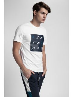 Men's T-shirt Kamil Stoch Collection TSM502 - white
