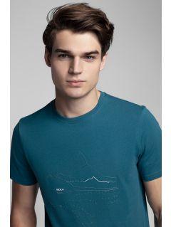 Men's T-shirt Kamil Stoch Collection TSM506 - sea green