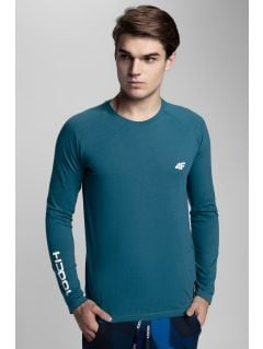 Men's long sleeve T-shirt Kamil Stoch Collection TSML500 - sea green