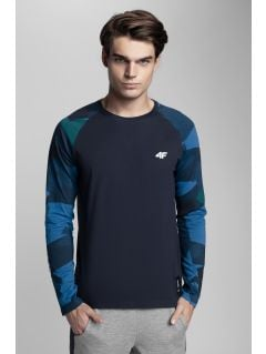 Men's long sleeve T-shirt Kamil Stoch Collection TSML500 - multicolor