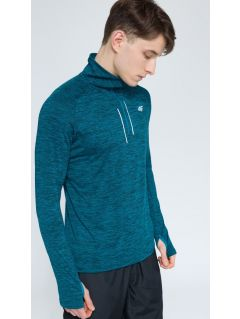 Men's active sweatshirt BLMF002 - sea blue