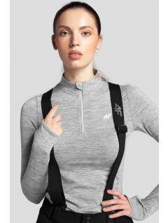 Women's thermal underwear BIDD300 - light grey melange