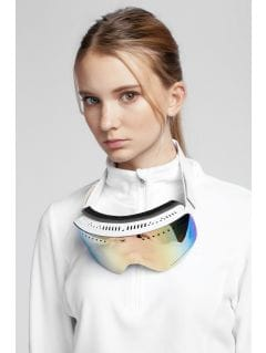 Women's fleece underwear BIDP300 - white