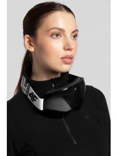 Women's fleece underwear BIDP300 - black