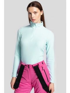 Women's fleece underwear BIDP300 - light blue