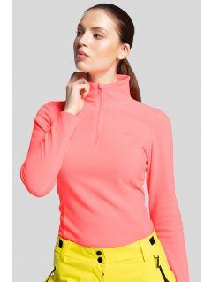 Women's fleece underwear BIDP300 - coral pink