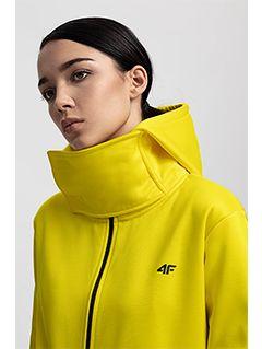 Women's ski hoodie BLD231 - yellow