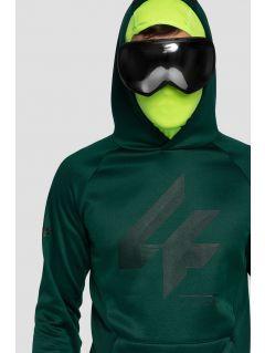 Men's hoodie BLM221 - dark green