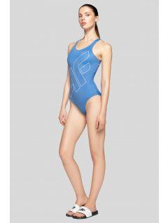 Women's swimsuit KOSP200 - cobalt blue