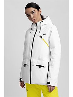 Women's ski jacket HQ Performance KUDN255 - white