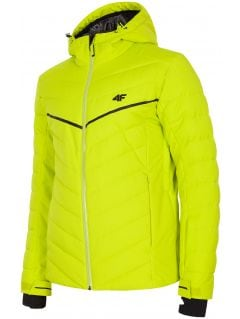 Men's ski jacket KUMN152R - fresh green