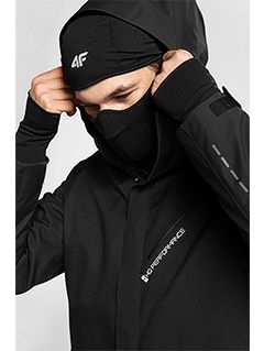 Men's ski jacket KUMN154 - black