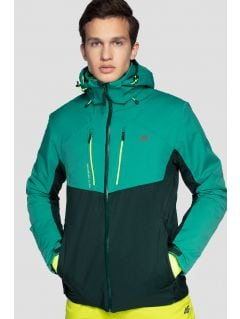 72b0bd853c Men s ski jacket KUMN258 - sea green