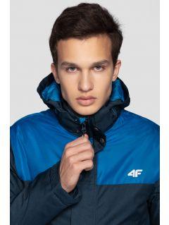 09c15698e2 Men s ski jacket KUMN351R - navy melange