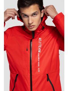 Men's ski jacket KUMN552a - red