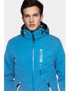 Men's ski jacket KUMN552r - blue
