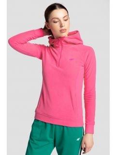 Women's fleece hoodie PLD301 - pink