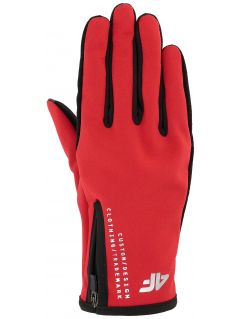 Unisex sports gloves REU102 - red